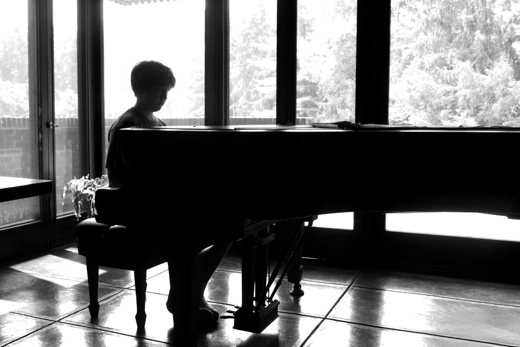 Throwback -  Piano Man by lsquared
