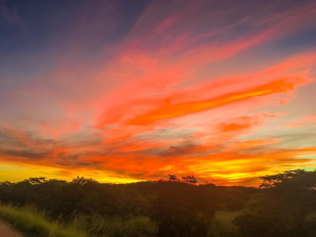 The Sky is on Fire by zambianlass