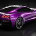 Little Purple Corvette