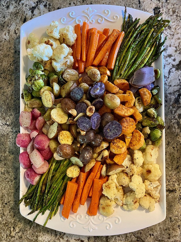Roasted Veggies by calm