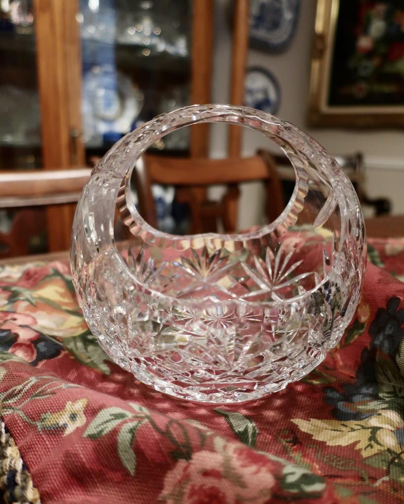 A tisket, a tasket, a little crystal basket by louannwarren