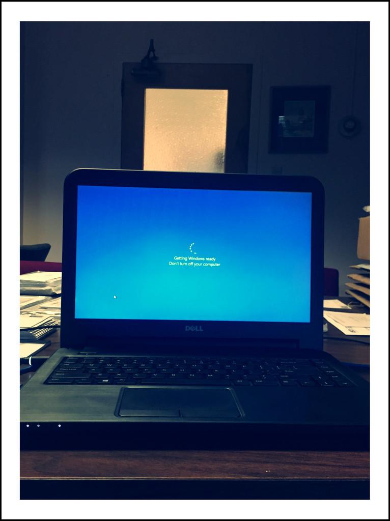 Getting Windows Ready... by mcsiegle