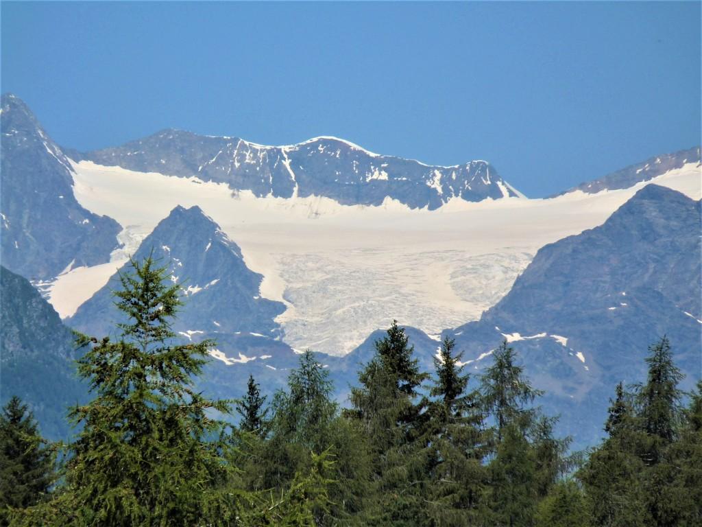 GLACIER OF MOUNT BERNINA by santina