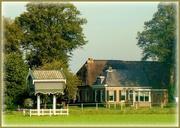 4th Aug 2020 - farmhouse and pigeon house