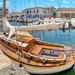 Boat in Marseillan.