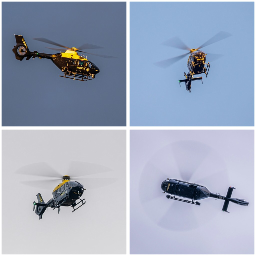 Police Helicopter by rjb71