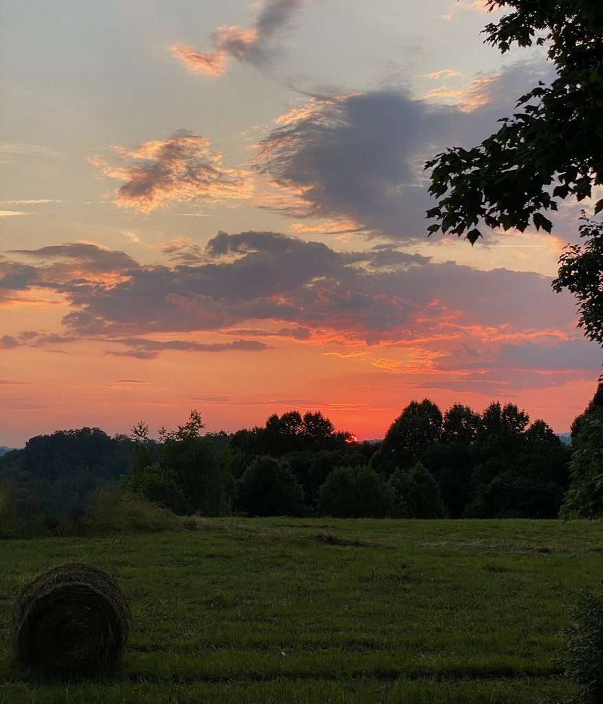 Sunset in the Country by calm