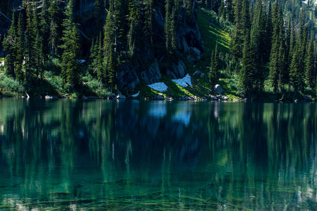 Turquoise Lake Reflections by 365karly1