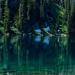 Turquoise Lake Reflections