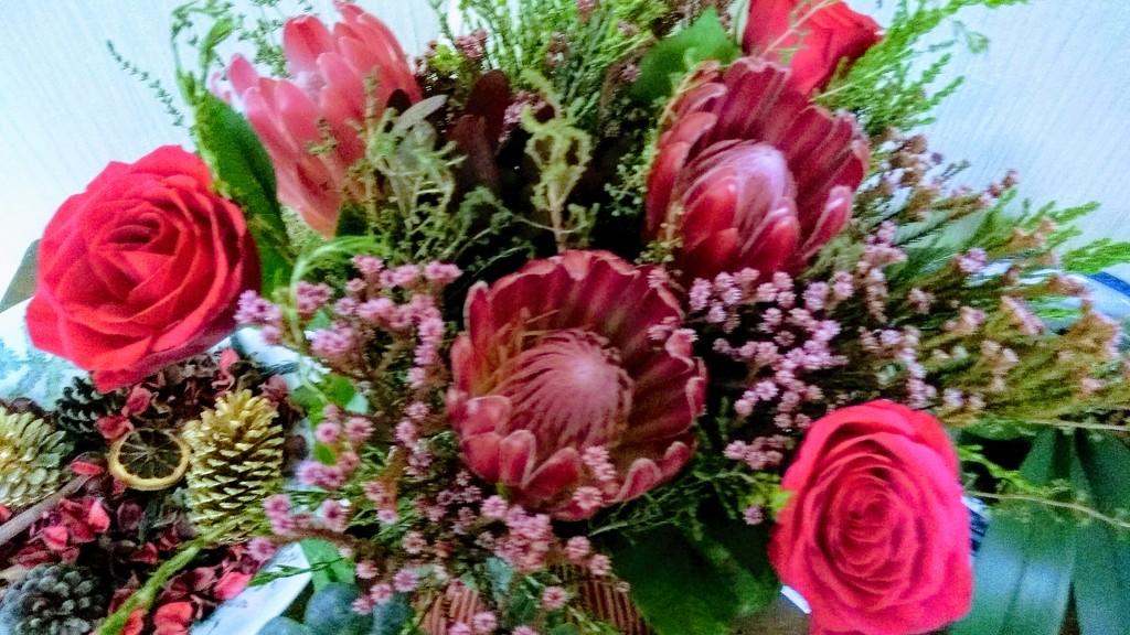 Birthday Flowers by countrylassie