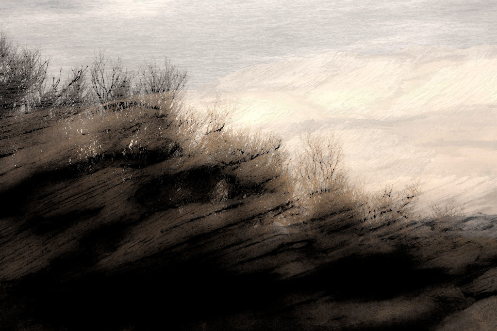 Kurnell Abstract 6 by annied