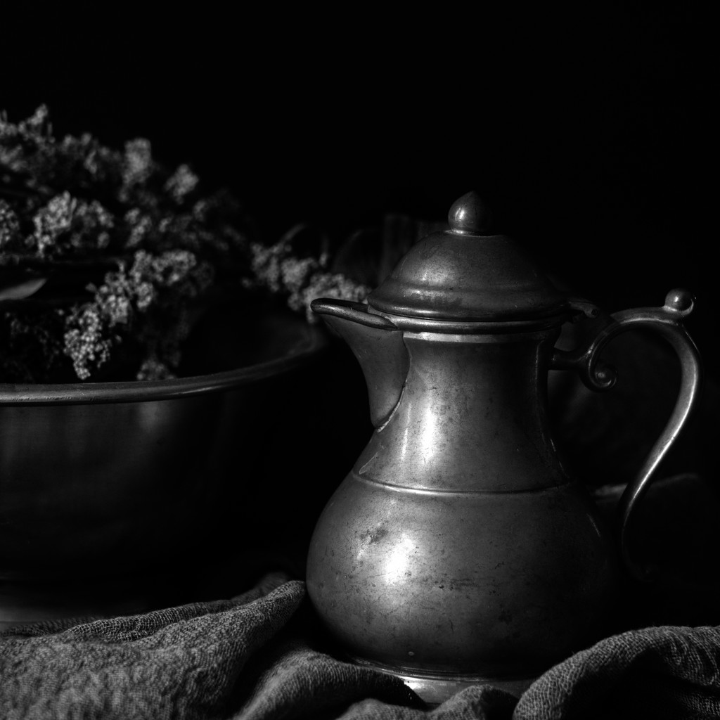 pewter pitcher by jernst1779
