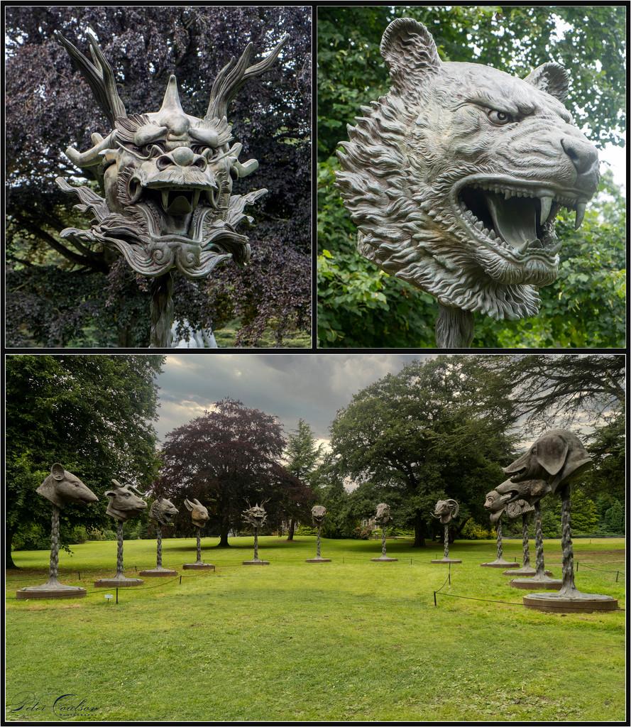 Zodiac Heads by pcoulson