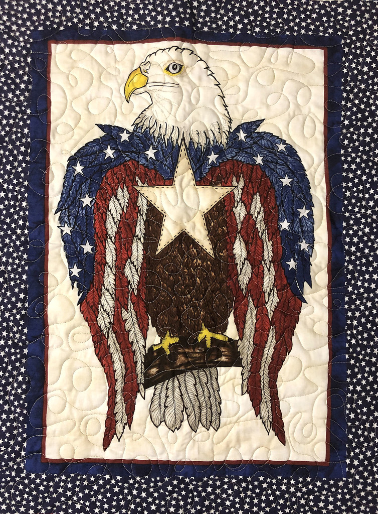 Quilted Eagle by homeschoolmom