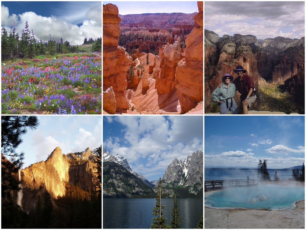 US National Parks in the West by shutterbug49