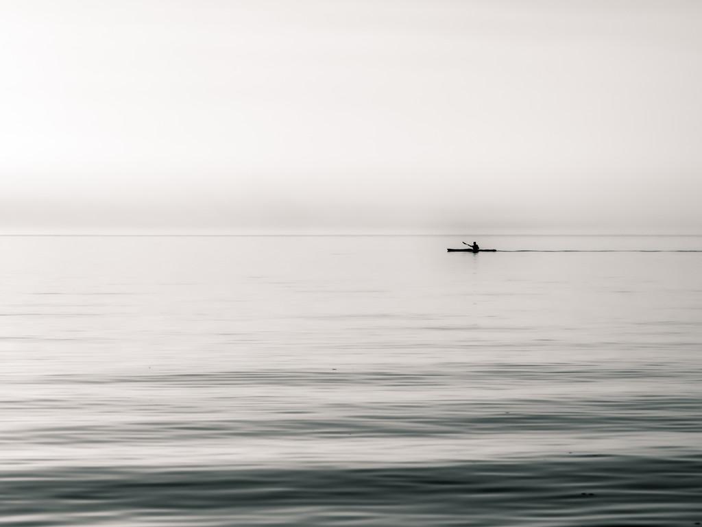 paddling at daybreak(ish) by northy