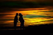 7th Aug 2020 - The sunset kiss