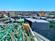 10th Aug 2020 - Fishermen ropes and baskets.