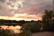 9th Aug 2020 - Sunset at Sheldon Lake  - City Park