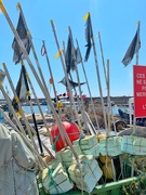12th Aug 2020 - Fisherman flags.