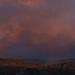 Sunset over the road to Wainuiomata NZ