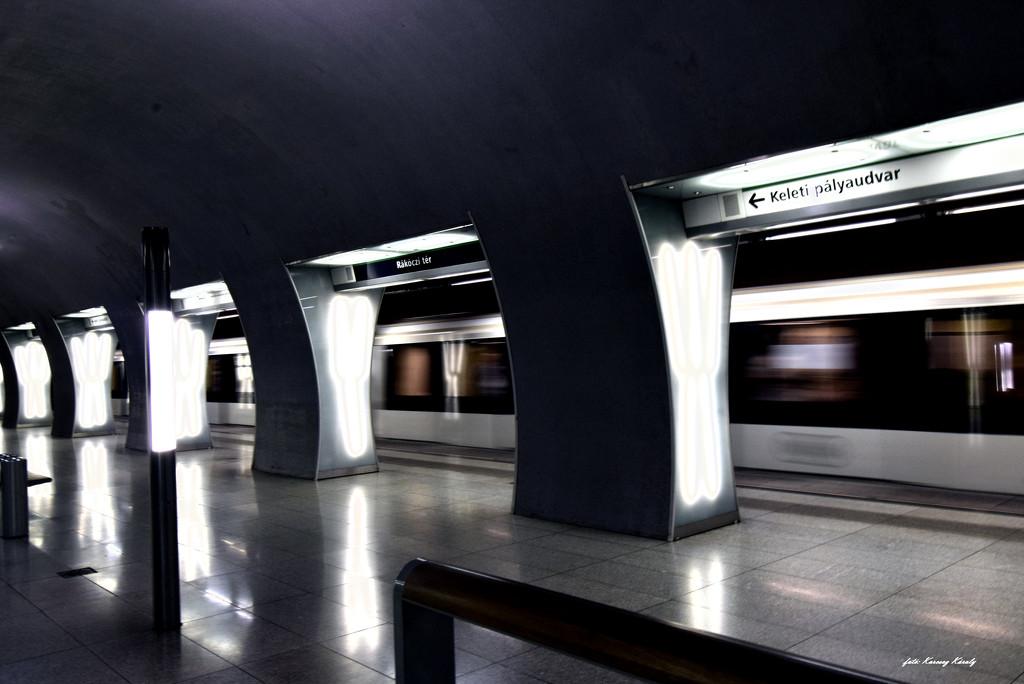 Neon Glossy Subway Station by kork