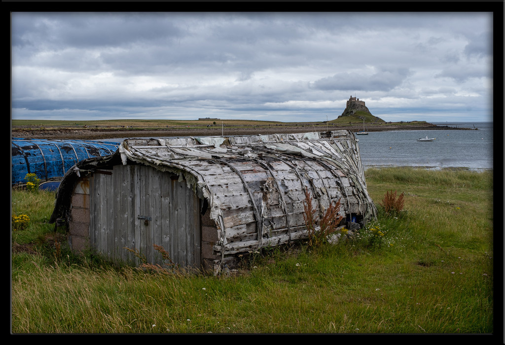 Herring boat shed by ellida
