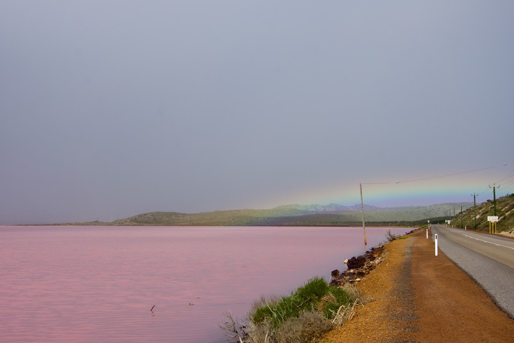 A Pink Lake At The End Of The RainbowDSC_0125 by merrelyn