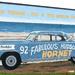 Hudson Hornet mural