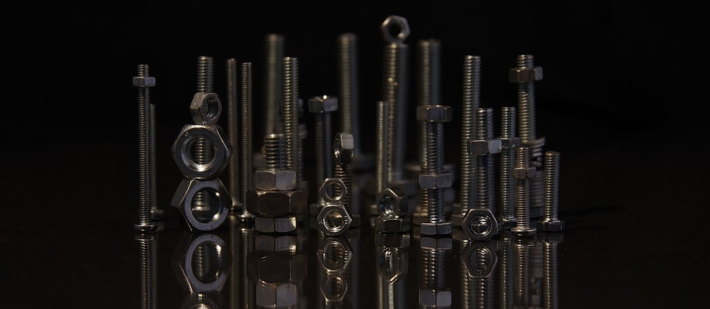 N is for Nuts and Bolts by 30pics4jackiesdiamond