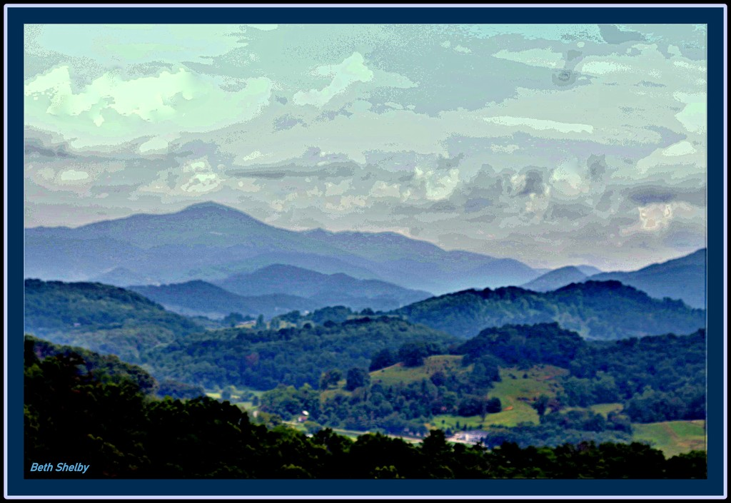 Blue Ridge Mountains  N.Carolina by vernabeth