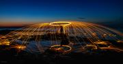 9th Aug 2020 - Night spinning