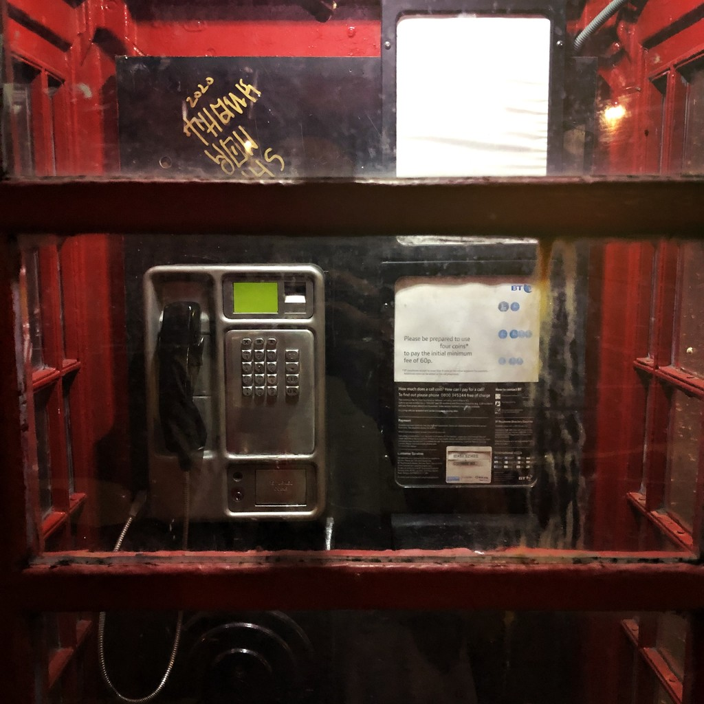 No trip 2 UK without phone booth by mastermek