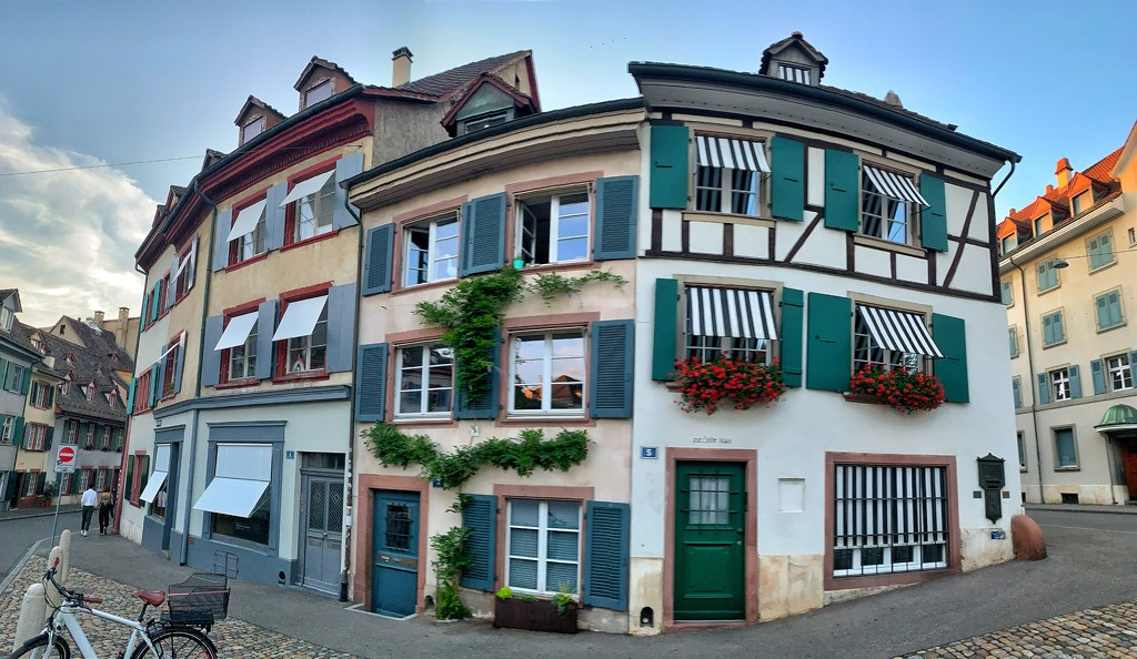 Basel houses.  by cocobella