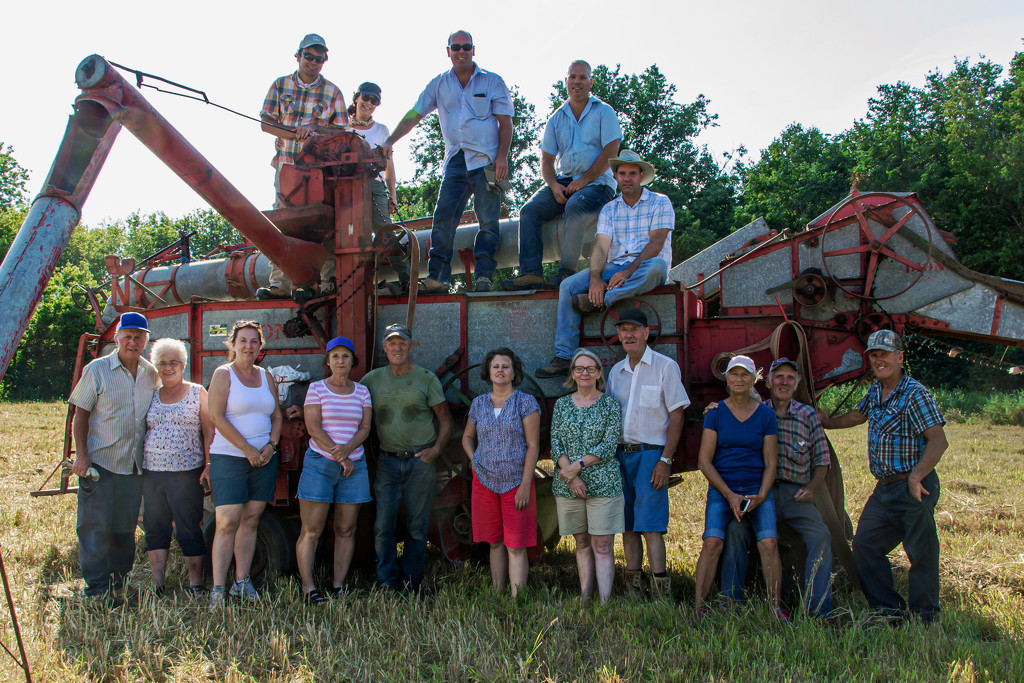 Old Time Threshing Party by farmreporter