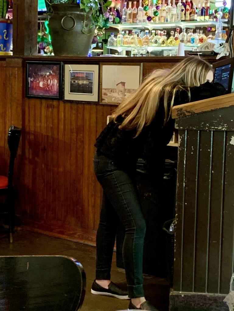 The blonde stranger by louannwarren