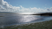 20th Aug 2020 - the shimmering sea