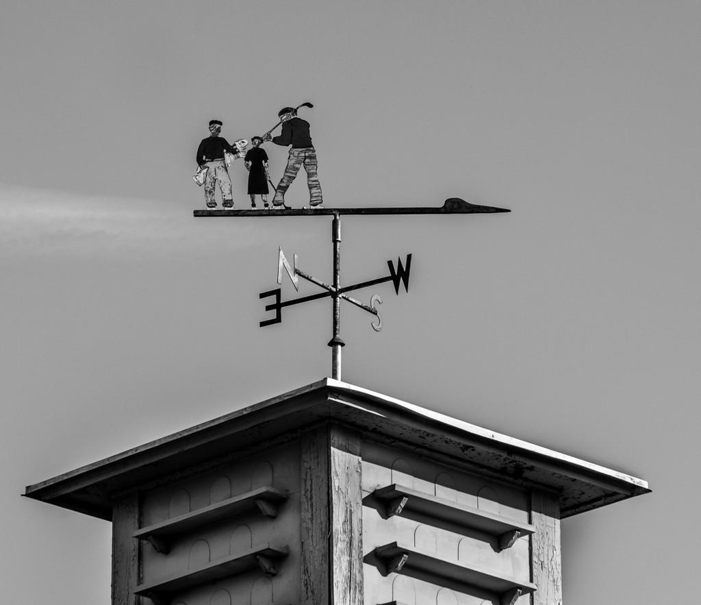 Weather vane by sprphotos