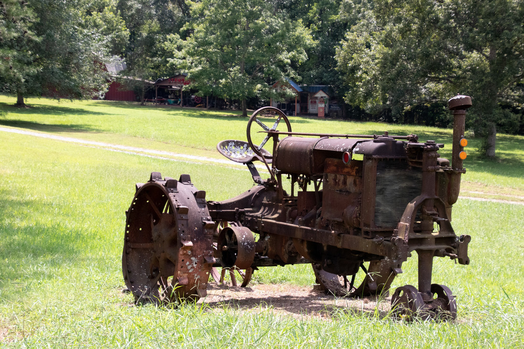 Old Tractor Resting by jifletcher