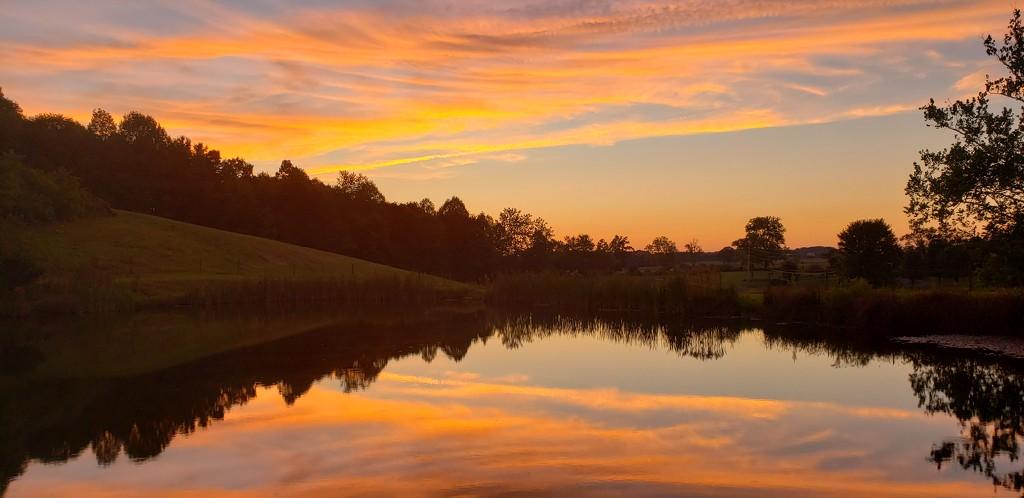 Stunning sunset evening by shine365