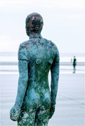 20th Aug 2020 - Had a very windy stroll with camera buddies on Crosby beach to photograph Anthony Gormley's Another Place.