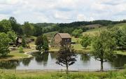 21st Aug 2020 - Farm by the pond