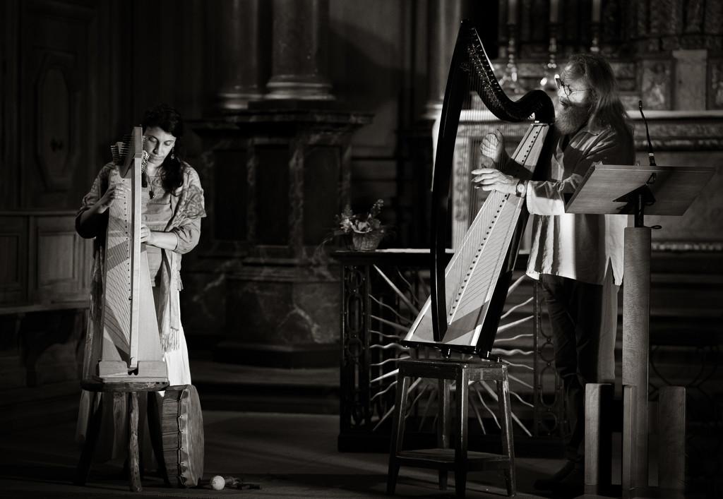 Paimpont Abbey Concert - Myrdhin by vignouse