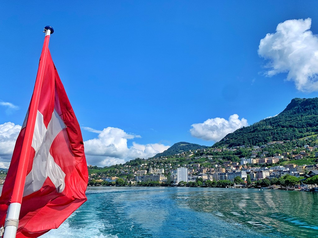 Swiss flag.  by cocobella