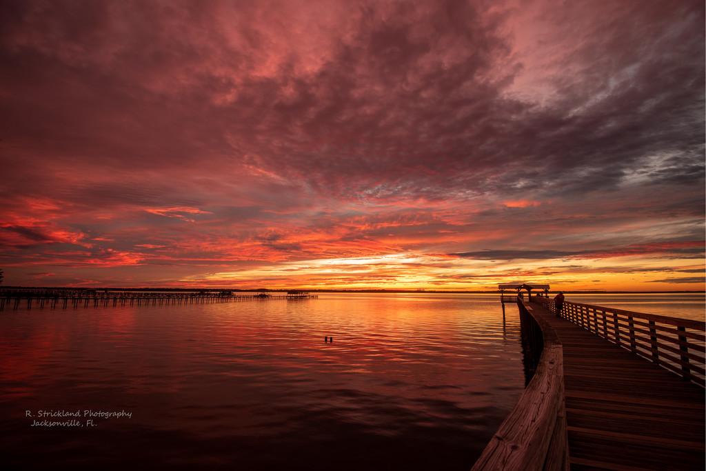 It Was an Amazing Sunset Tonight! by rickster549