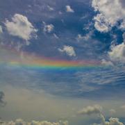 22nd Aug 2020 - Cloud Rainbow...