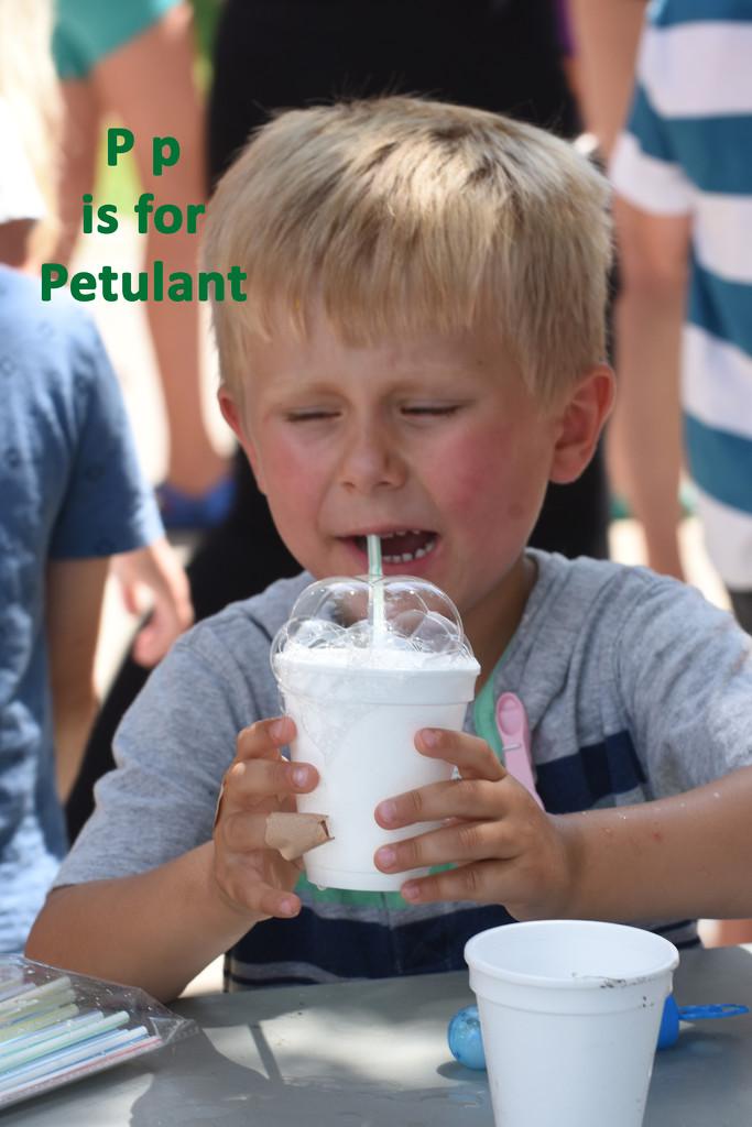August Alphabet Words - Petulant by farmreporter