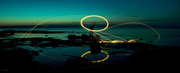 15th Aug 2020 - Spinning steel wool