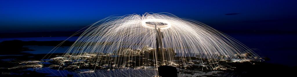 Spinning steel wool by novab