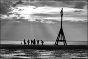 23rd Aug 2020 - The structure is a navigation marker, one of a pair, that used to be used by the ship's coming into and out of Liverpool docks